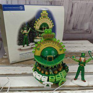 dept 56 55157 luckys Irish souvenirs st patricks s